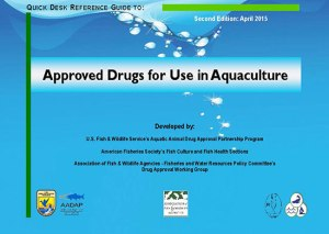 Screenshot - USFWS 2nd Edition - Approved Drugs for use in Aquaculture