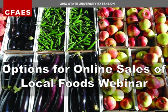 OhioSt online local food sales webinar
